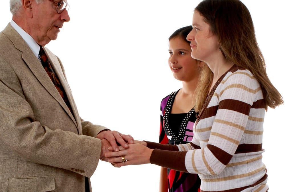 Houses of Worship banning handshakes to prevent spread of coronavirus