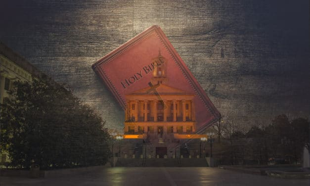 TN Lawmaker Continues to Try To Make Bible 'Official State Book'