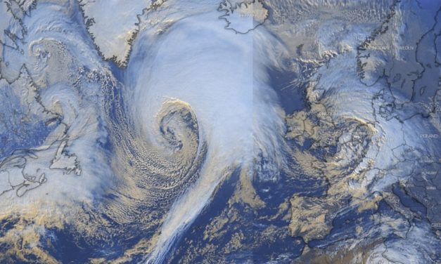 Storm Dennis Is Exploding Into a Furious Bomb Cyclone as it Roars Toward UK and Northern Europe