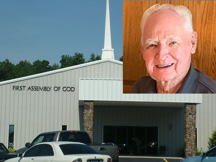 91 year-old Greeter dead and 34 infected at Church in Arkansas