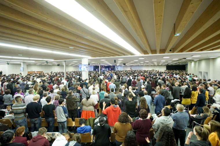 French evangelical church conference blamed for surge in coronavirus infections