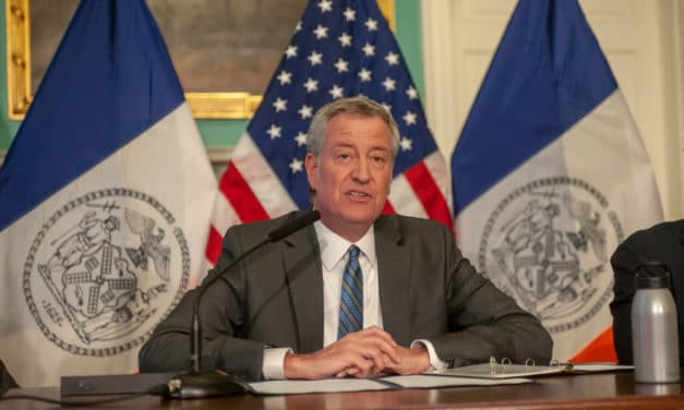 De Blasio warns places of worship that resist shutdown order could remain closed permanently