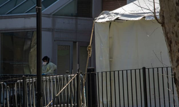 "Indianapolis emerging as ""Hot Spot"" of Virus – Field hospital set up in NY Central Park"