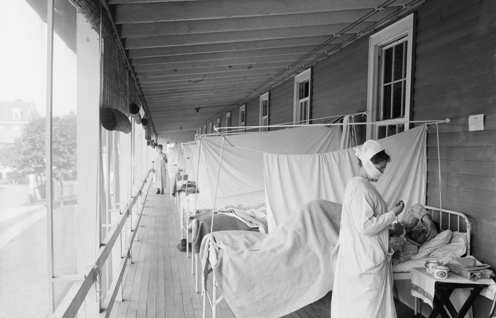 """Doctor warns of """"second wave"""" with coronavirus that could be like 1918 Spanish Flu"""