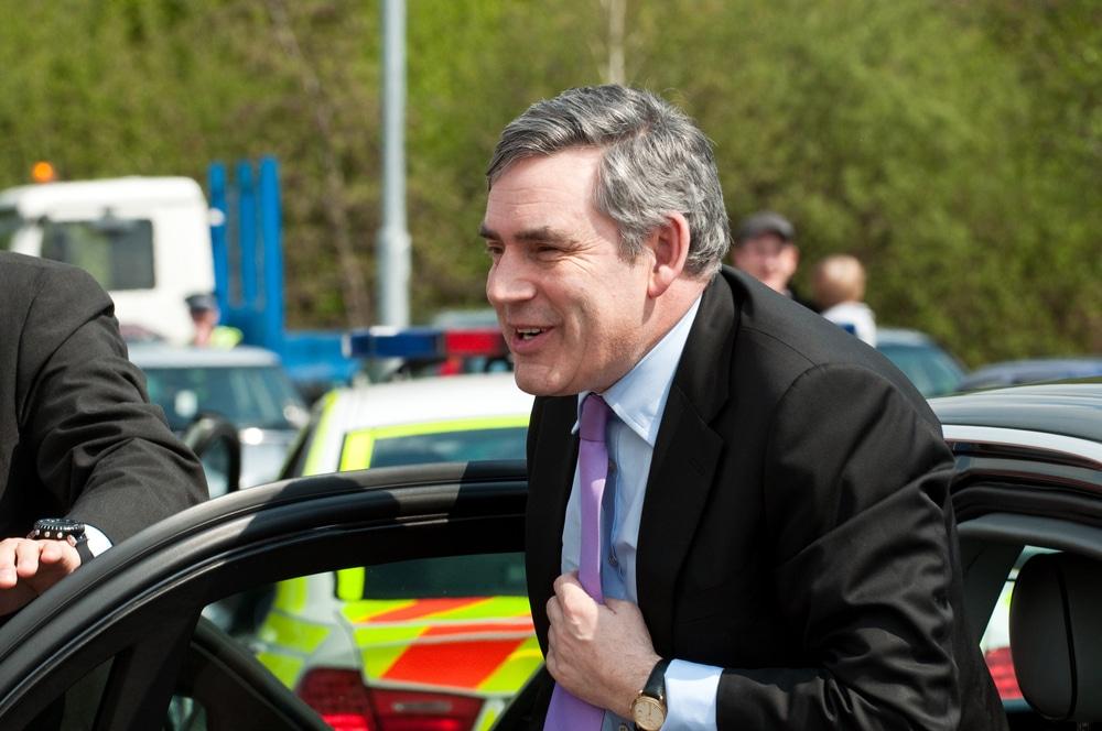 "Gordon Brown calls for ""global government"" to tackle coronavirus"