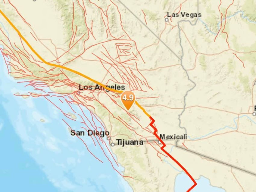 Magnitude 4.9 Earthquake strikes Anza, California – Shakes Homes in Los Angeles