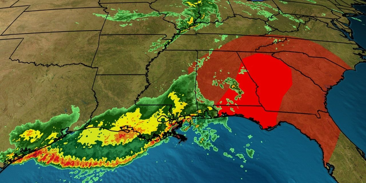 DEVELOPING: 60 million under threat from strong storms from Texas to Wisconsin