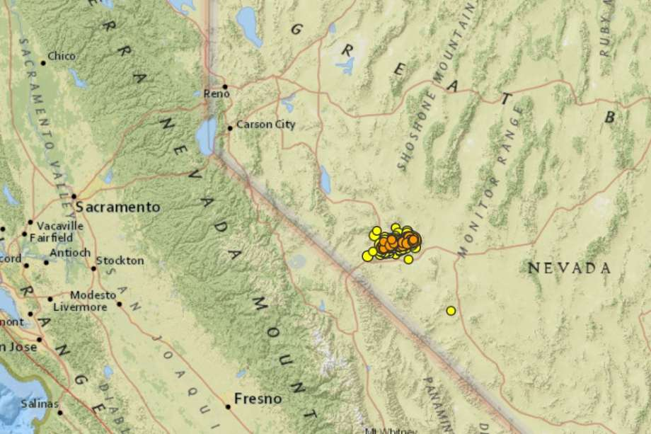 More than 500 quakes have rattled western Nevada after 6.5 struck less than a week ago