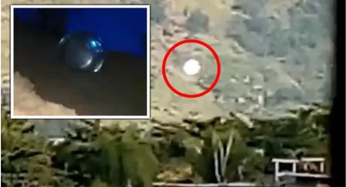 Mysterious orb spotted in Brazil days after alleged UFO crash cover-up