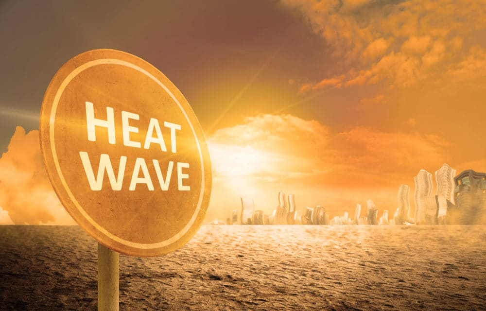 Scorching heatwave reaching the US, India and Siberia