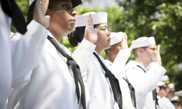 US Navy grants first waiver for transgender service member to serve under preferred gender