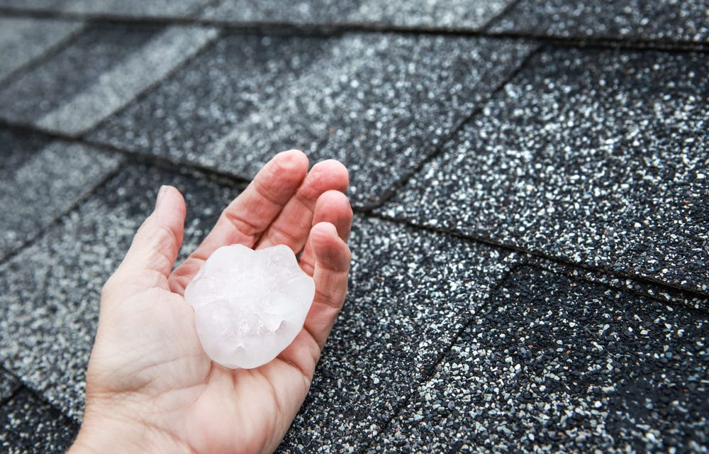 Texas city slammed with tennis ball-sized hail- Worst storm in 30 years