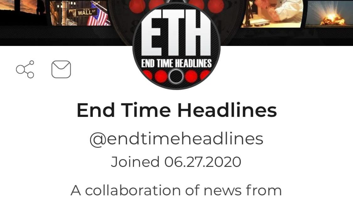"End Time Headlines Joins Popular Social Media Network ""Parler"""