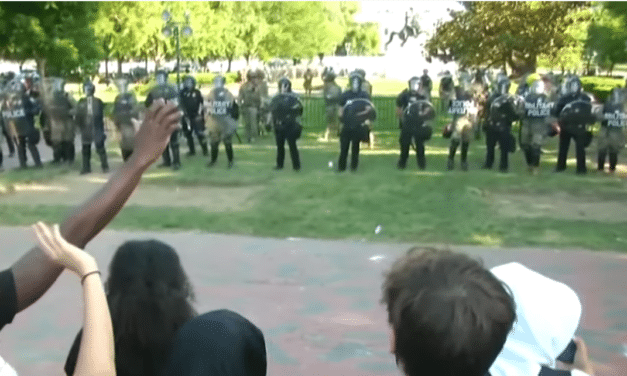 Military Gathers in DC, Violence and Destruction Escalates