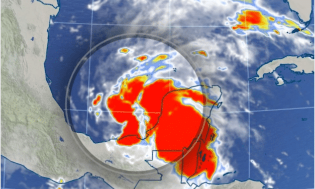 DEVELOPING: Tropical Storm Cristobal, a record-breaker, forms over southern Gulf of Mexico…