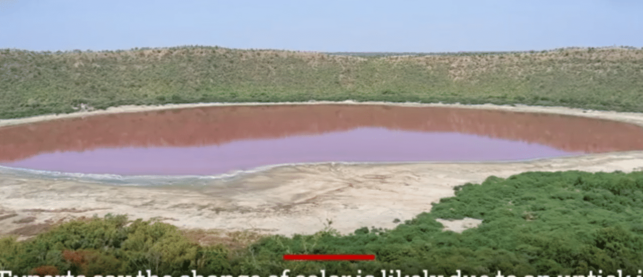 A 50,000-year-old lake in India just turned pink leaving experts baffled Screen-Shot-2020-06-12-at-5.13.48-PM-1280x552