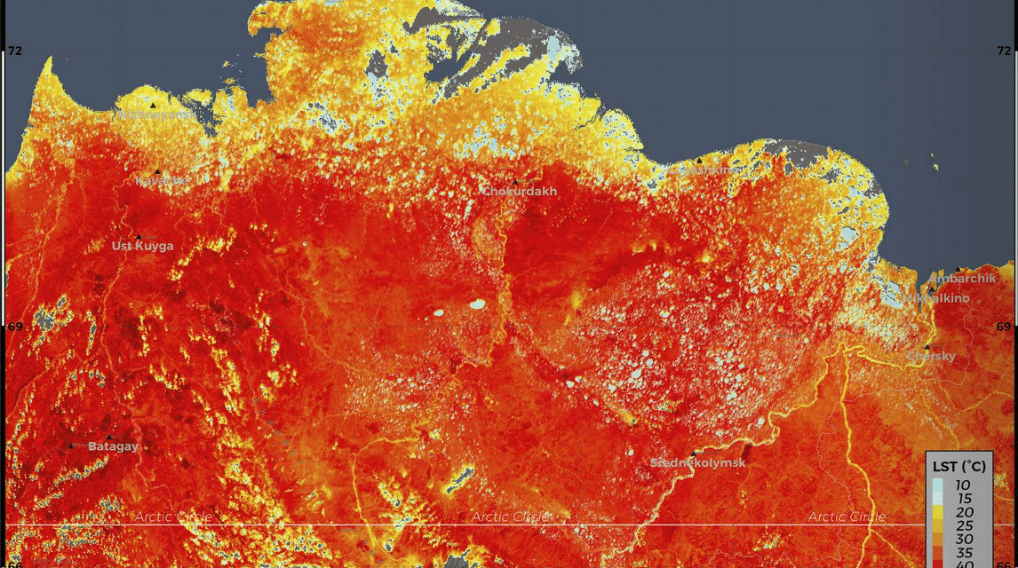 Siberian heat wave alarms scientists, Great concern for the world