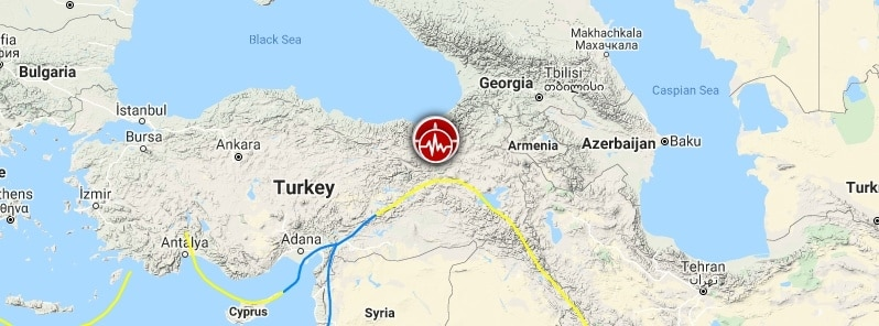 Strong and shallow Magnitude 5.9 earthquake strikes Turkey, leaving at least one dead and 18 injured