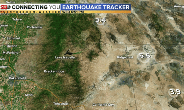 Strong Magnitude 5.5 Earthquake Strikes Ridgecrest, CA – Felt Across Southern California