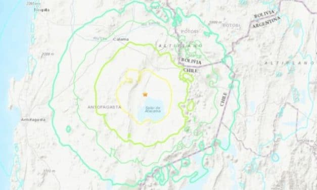 Powerful 6.8 magnitude earthquake rocks northern Chile