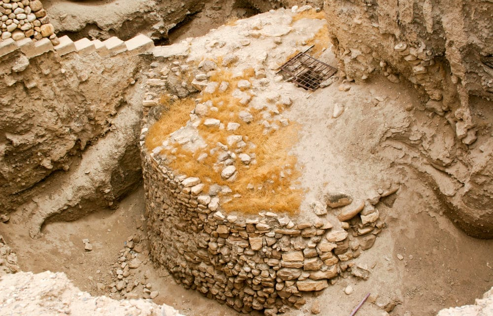 Is this archeological proof of the Biblical account of the fall of Jericho?