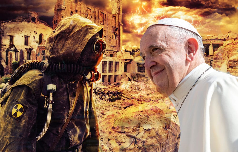 "Pope's apocalyptic vision sparks ""end of the world"" fears"