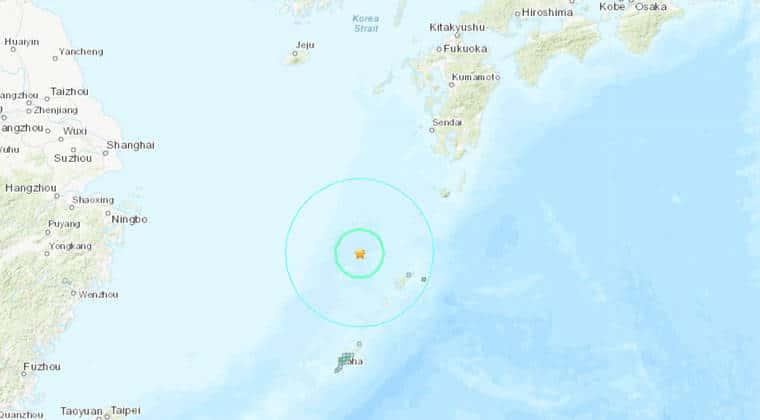 Strong 6.7 magnitude earthquake strikes near Japan