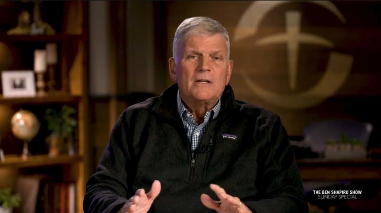 Franklin Graham warns of 'all-out socialism' if Americans don't vote for leaders 'who love this country'