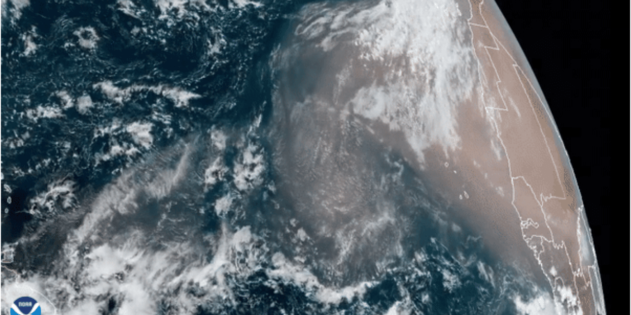 Second round of Saharan dust reaches the U.S. after first huge plume dissipates