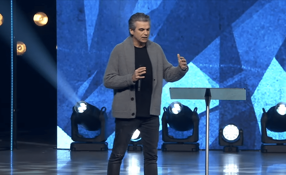 Pastor Jentezen Franklin urges Christians to vote their faith after Calif. bans singing in church