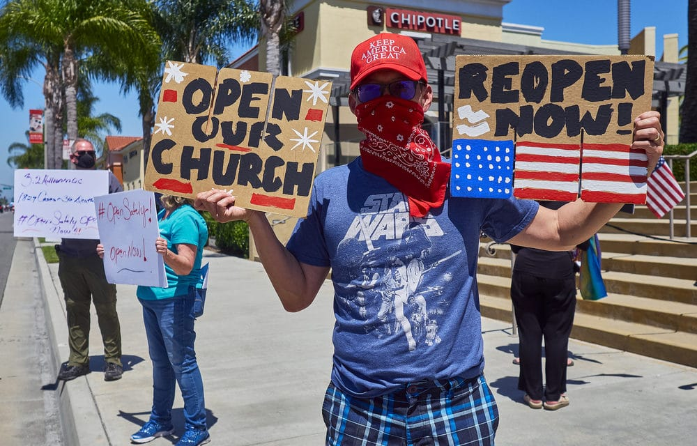 California Churches Have Been Shut Down Indefinitely, And The NFL Season May Be In Jeopardy