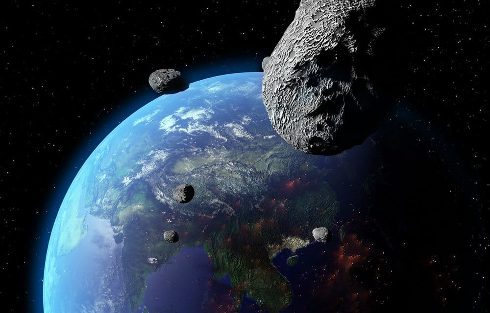 Near Earth Asteroid Due To Come Within 300 Miles Of Earth In November