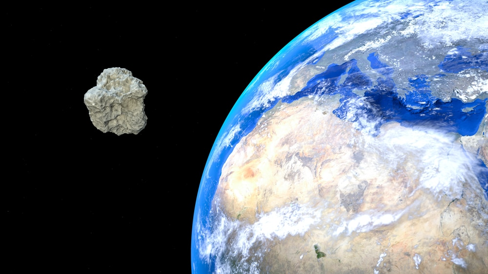 Four asteroids to buzz past Earth in single day