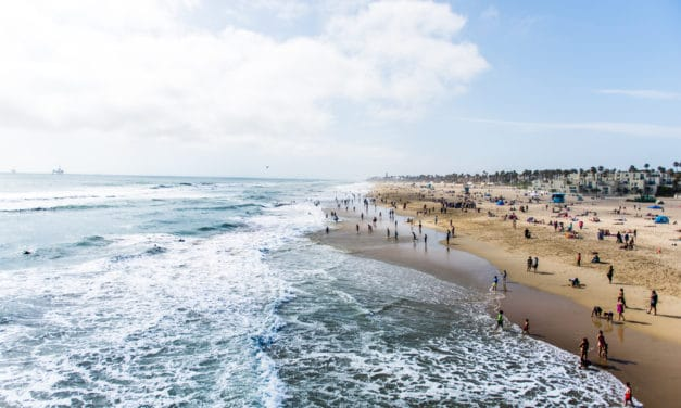 Revival is taking place at Huntington Beach in California