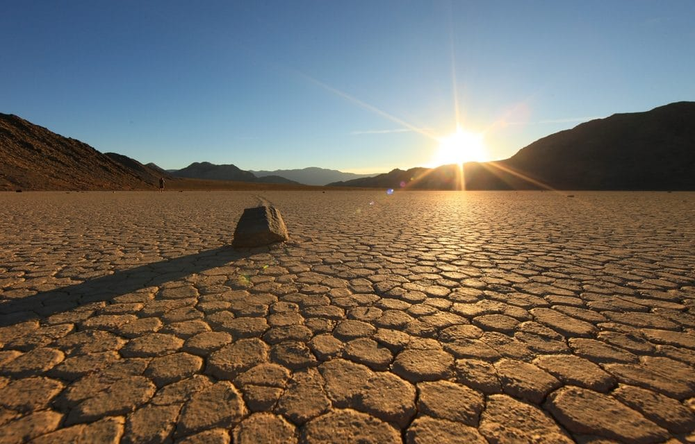 Death Valley just set the record for the planet's hottest temperature in years