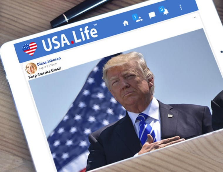 USA.Life founder hails platform as alternative to Facebook, Twitter for Christians and conservatives