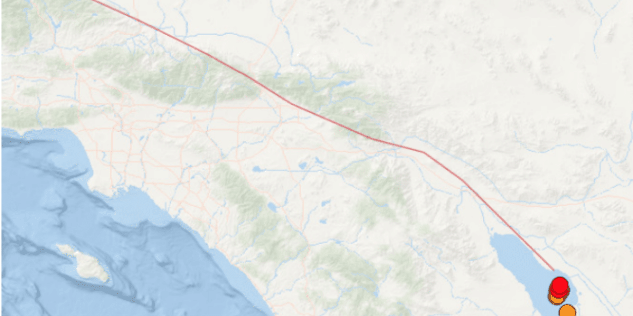 DEVELOPING: Swarm of Salton Sea earthquakes sparks worry about the San Andreas fault