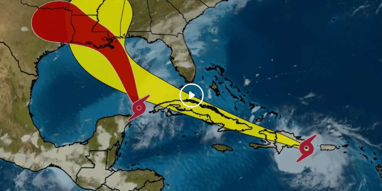 UPDATE: Laura and Marco on collision course with Gulf