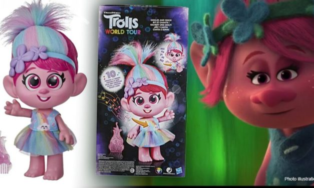 """Hasbro pulls Trolls doll over concerns it promotes 'inappropriate touching"""""""