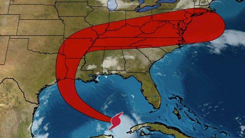 Laura strengthens into hurricane, Forecast to Strike Upper Texas, Louisiana Coasts as Category 3