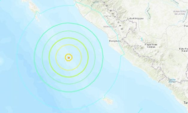 Back-to-Back 6.8 and 6.9 earthquakes strike southern Sumatra, Indonesia