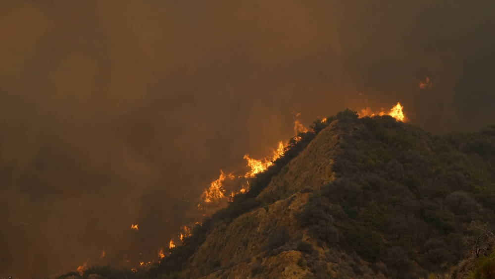 Los Angeles facing extreme heat, two wildfires, potential mudslide risks and Coronavirus