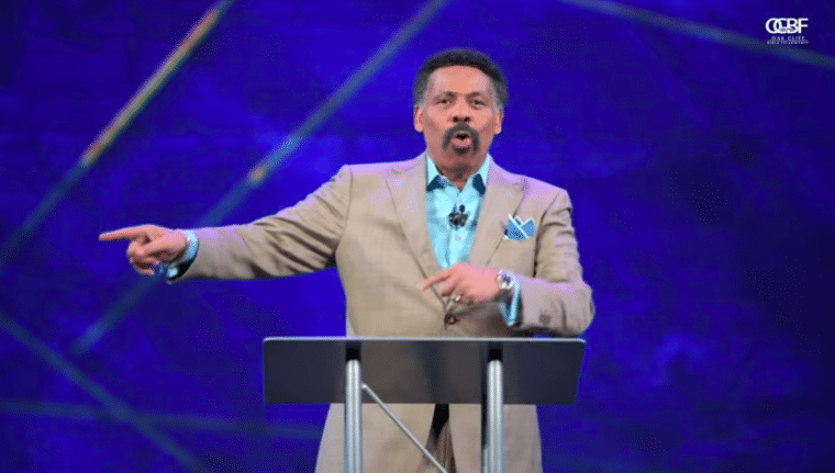 Tony Evans urges Christian voters to not ignore 'abortion' outside the womb