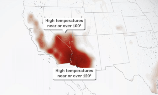 Dangerous heatwave expected to strike the West Coast over Labor Day weekend