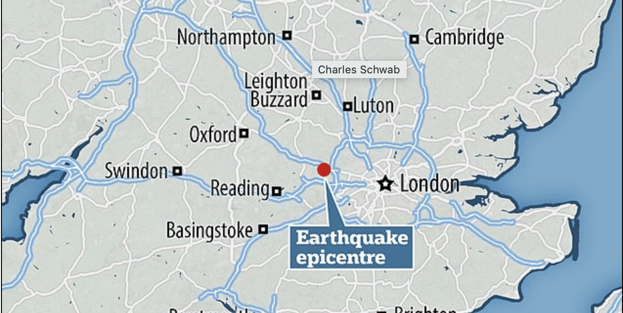 Shocked residents report 'houses shaking' and 'windows rattling' after rare 3.9 quake strikes Bedfordshire