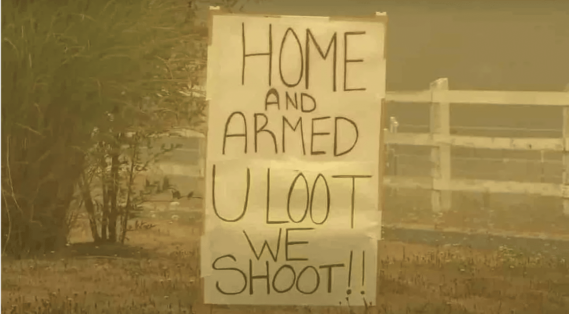 'You loot, we shoot': Armed property owners in Oregon threaten would-be lawbreakers amid wildfires