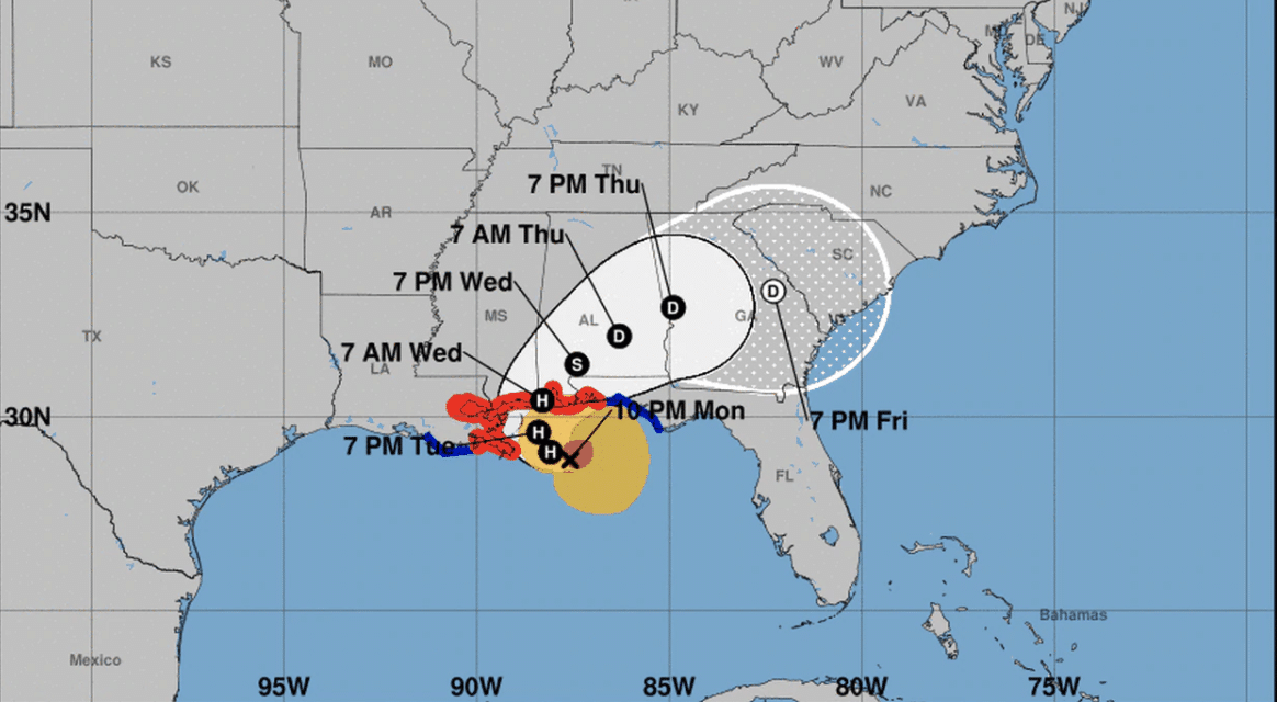 DEVELOPING: Alabama On High Alert For 'Potentially Historic' Flooding From Hurricane Sally