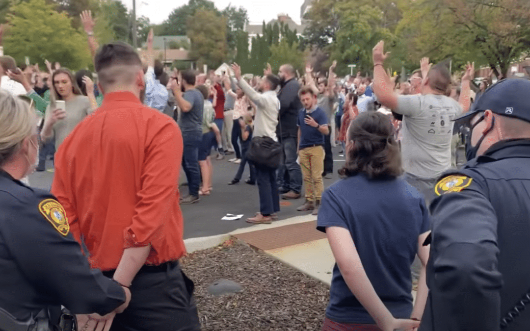 Christians Arrested for Singing Hymns Outdoors Organize Second 'Psalm Sing' Gathering Just Days Later