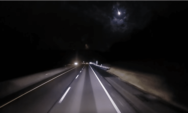 Giant Fireball Seen Across Skies of East Coast