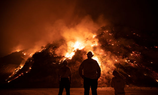 5 of the 6 largest California wildfires in history — started in the past 6 weeks…